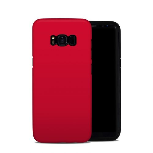 Solid State Red Samsung Galaxy S8 Hybrid Case