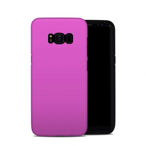 Solid State Vibrant Pink Samsung Galaxy S8 Hybrid Case