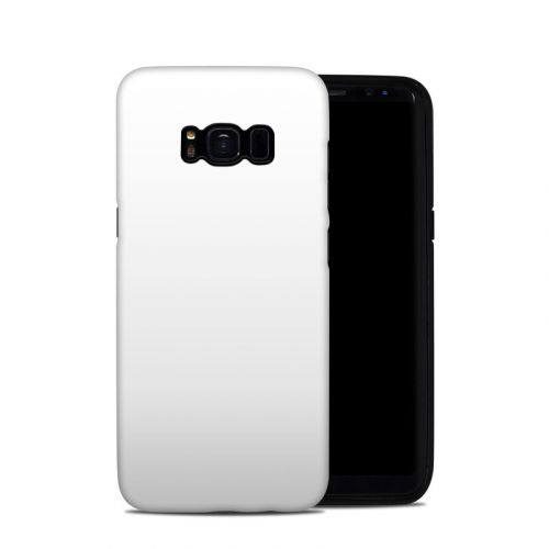 Solid State White Galaxy S8 Hybrid Case