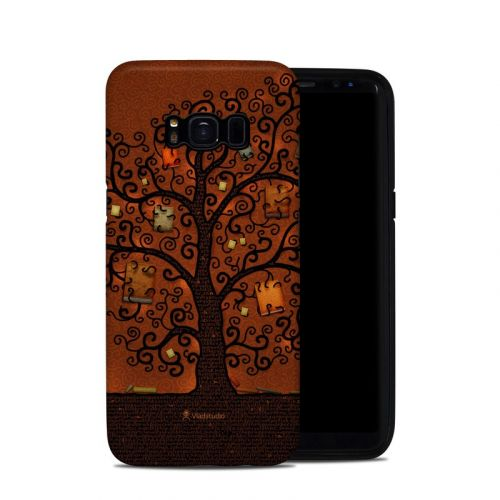 Tree Of Books Galaxy S8 Hybrid Case