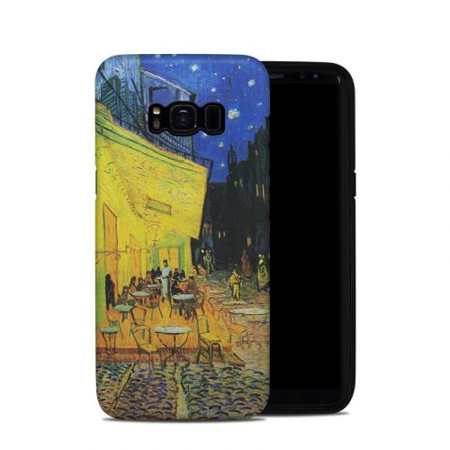 Cafe Terrace At Night Galaxy S8 Hybrid Case