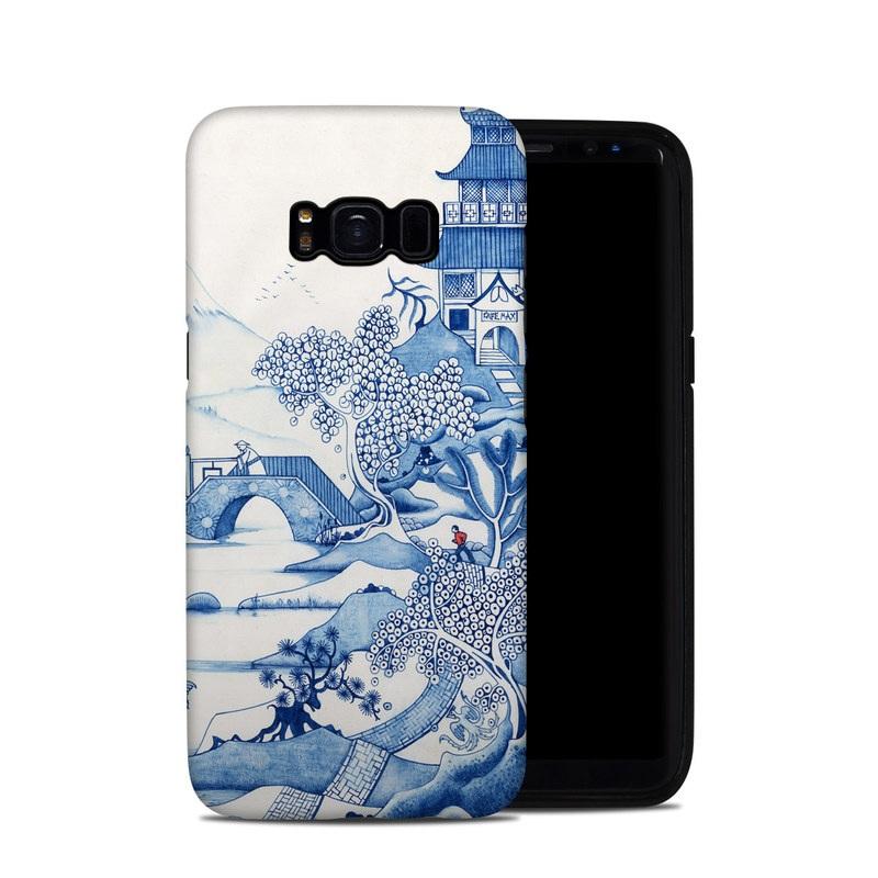 Blue Willow Samsung Galaxy S8 Hybrid Case