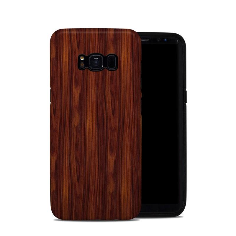 Samsung Galaxy S8 Hybrid Case design of Wood, Red, Brown, Hardwood, Wood flooring, Wood stain, Caramel color, Laminate flooring, Flooring, Varnish with black, red colors