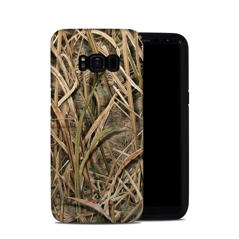 Shadow Grass Blades Galaxy S8 Hybrid Case
