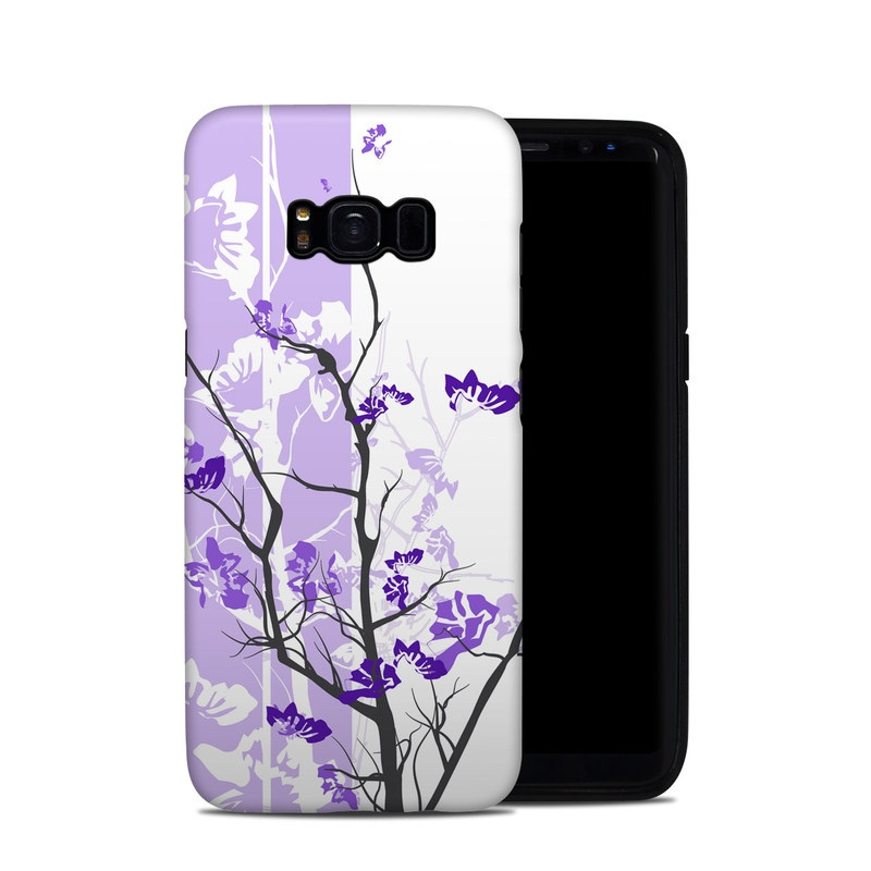 Violet Tranquility Samsung Galaxy S8 Hybrid Case