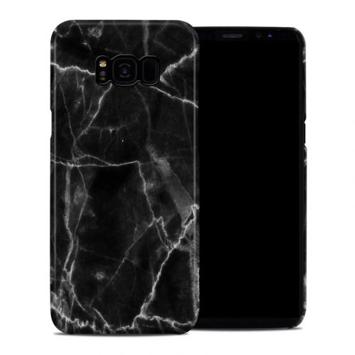 Black Marble Samsung Galaxy S8 Plus Clip Case
