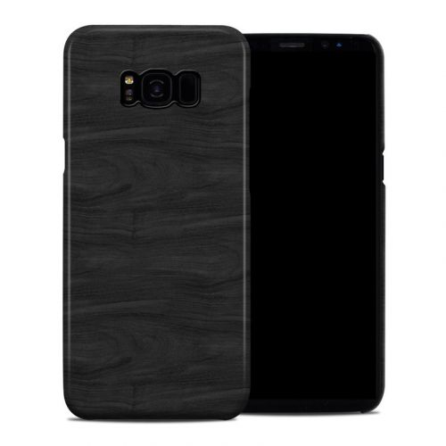 Black Woodgrain Samsung Galaxy S8 Plus Clip Case