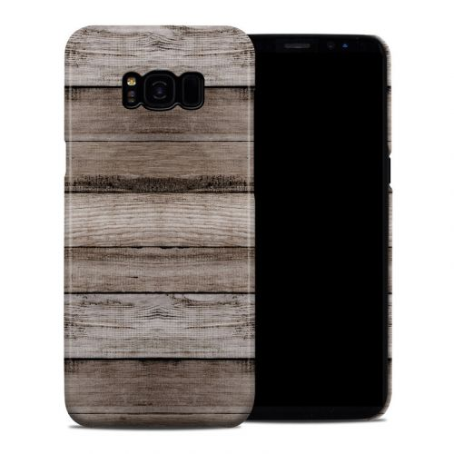 Barn Wood Samsung Galaxy S8 Plus Clip Case