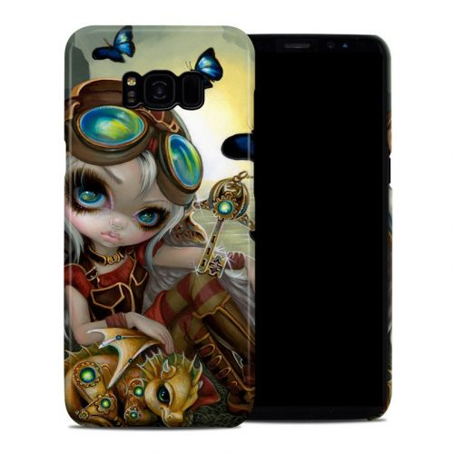 Clockwork Dragonling Samsung Galaxy S8 Plus Clip Case