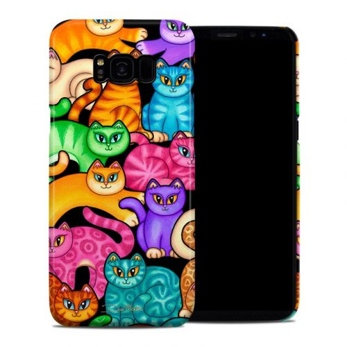 Colorful Kittens Samsung Galaxy S8 Plus Clip Case