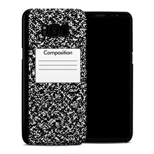 Composition Notebook Samsung Galaxy S8 Plus Clip Case