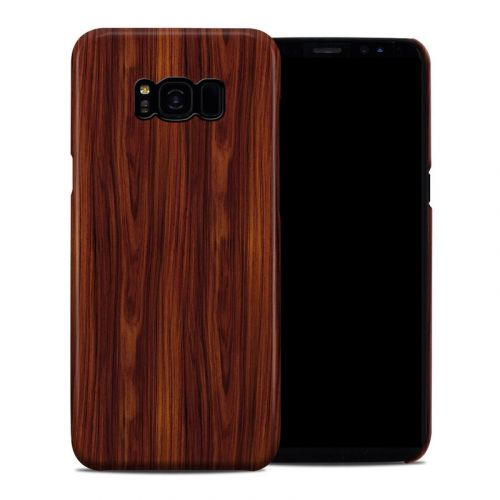 Dark Rosewood Samsung Galaxy S8 Plus Clip Case