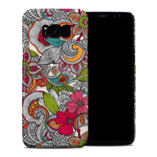 Doodles Color Galaxy S8 Plus Clip Case