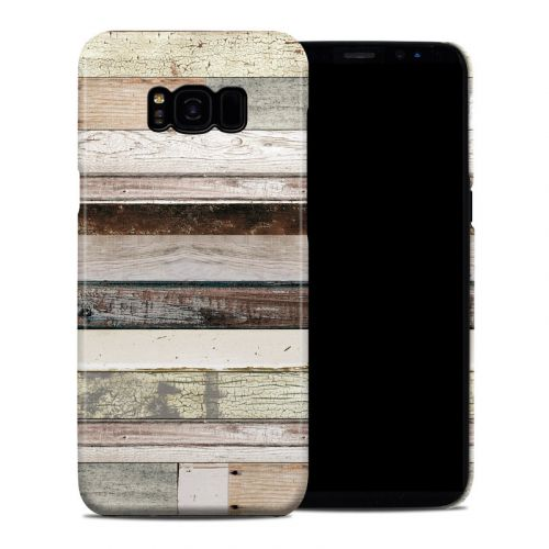 Eclectic Wood Galaxy S8 Plus Clip Case