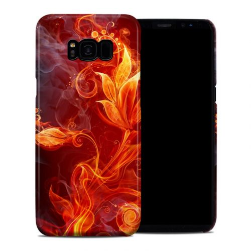 Flower Of Fire Samsung Galaxy S8 Plus Clip Case