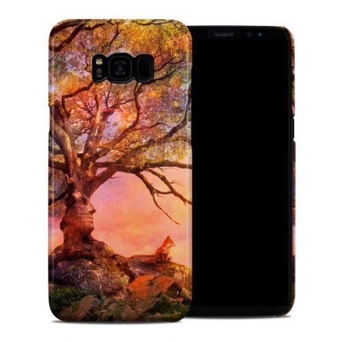 Fox Sunset Samsung Galaxy S8 Plus Clip Case