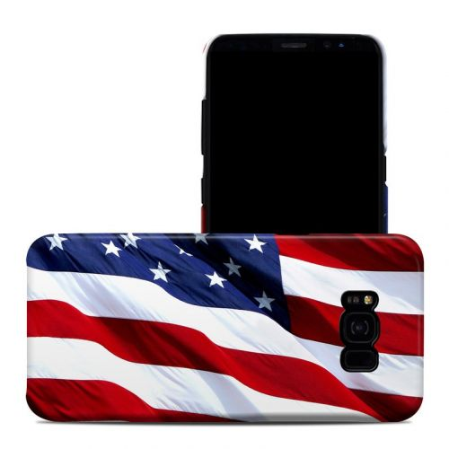 Patriotic Galaxy S8 Plus Clip Case