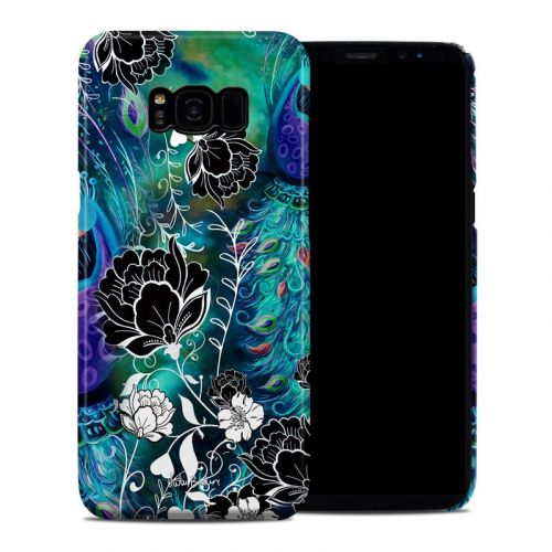 Peacock Garden Galaxy S8 Plus Clip Case