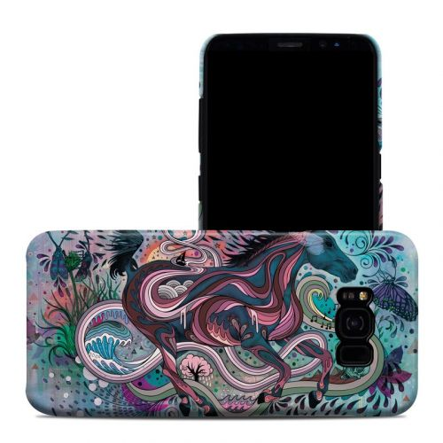 Poetry in Motion Galaxy S8 Plus Clip Case