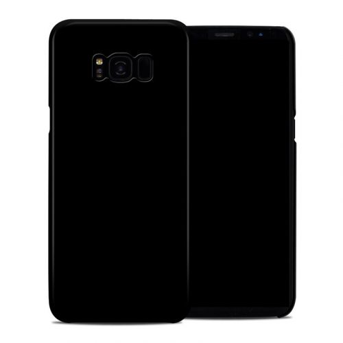 Solid State Black Samsung Galaxy S8 Plus Clip Case