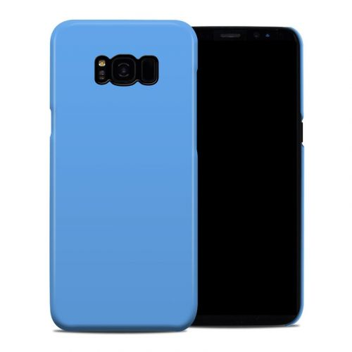 Solid State Blue Galaxy S8 Plus Clip Case