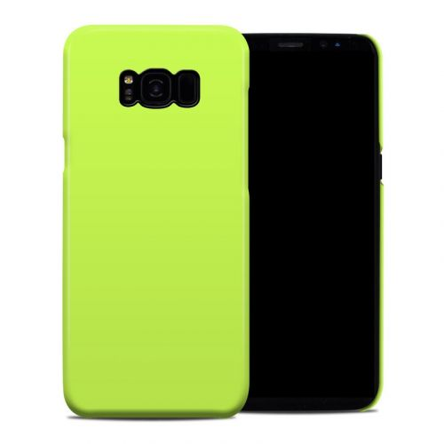 Solid State Lime Samsung Galaxy S8 Plus Clip Case