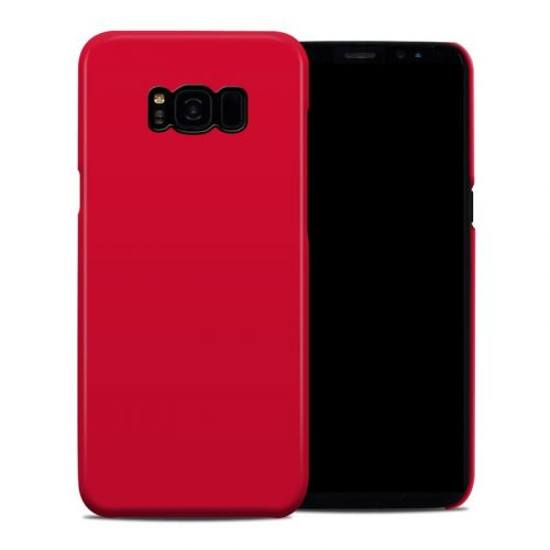 Solid State Red Samsung Galaxy S8 Plus Clip Case