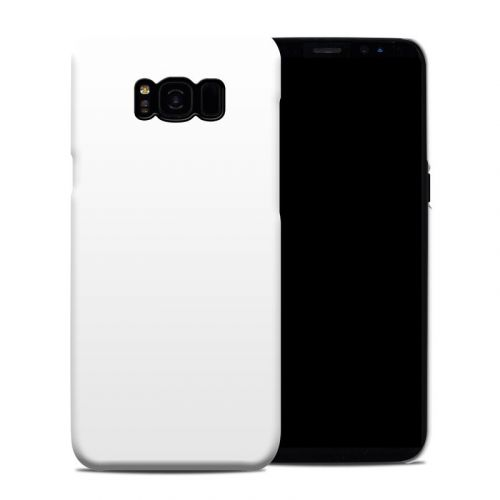 Solid State White Samsung Galaxy S8 Plus Clip Case