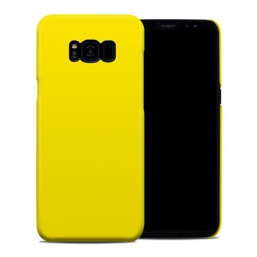 Solid State Yellow Galaxy S8 Plus Clip Case
