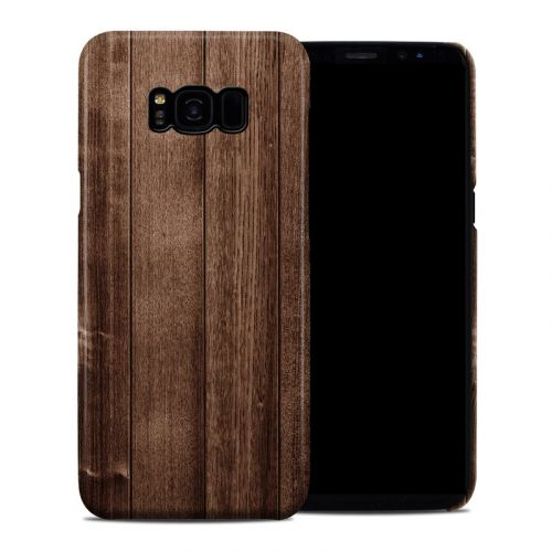 Stained Wood Galaxy S8 Plus Clip Case