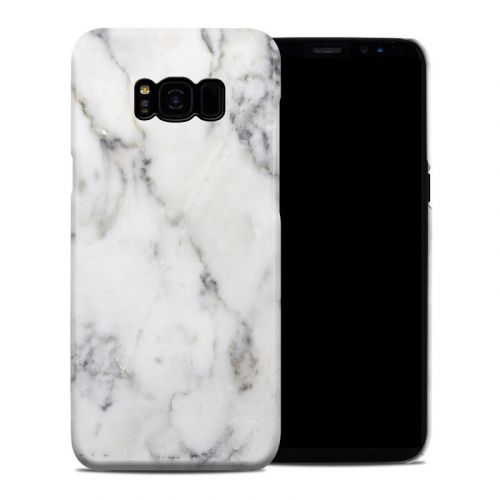 White Marble Galaxy S8 Plus Clip Case
