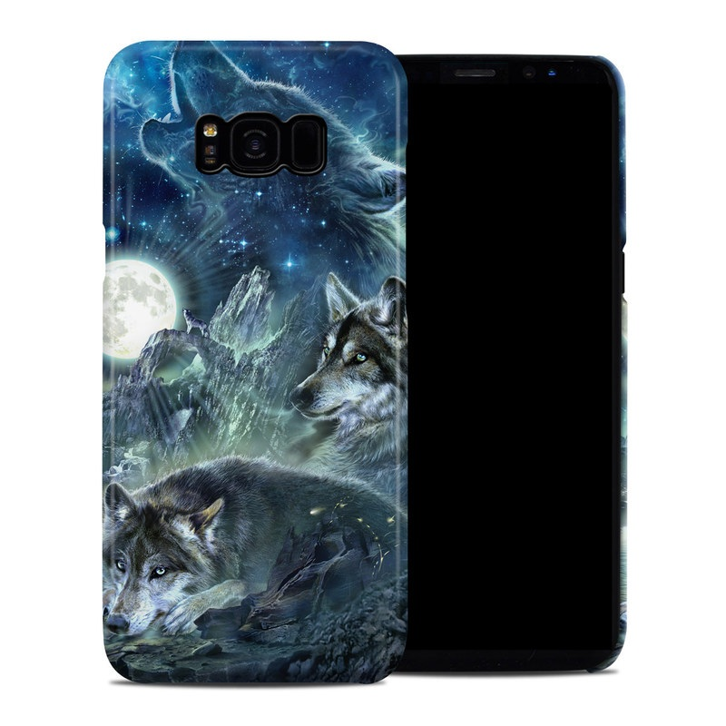 Bark At The Moon Samsung Galaxy S8 Plus Clip Case