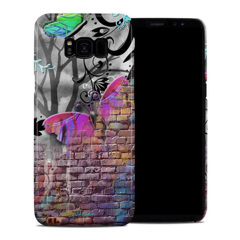 Butterfly Wall Samsung Galaxy S8 Plus Clip Case