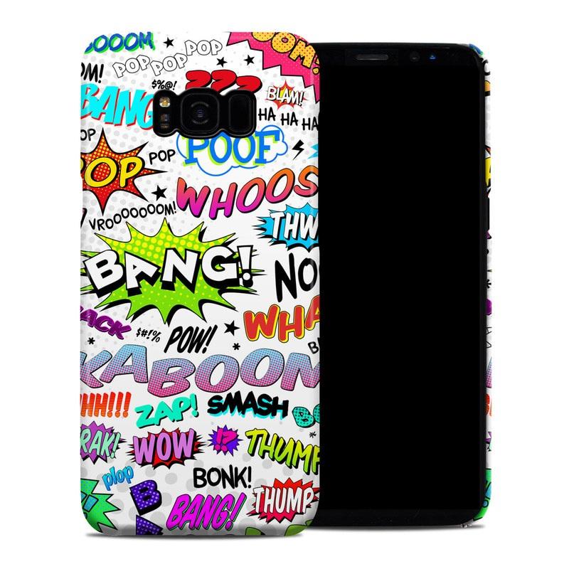 Comics Galaxy S8 Plus Clip Case