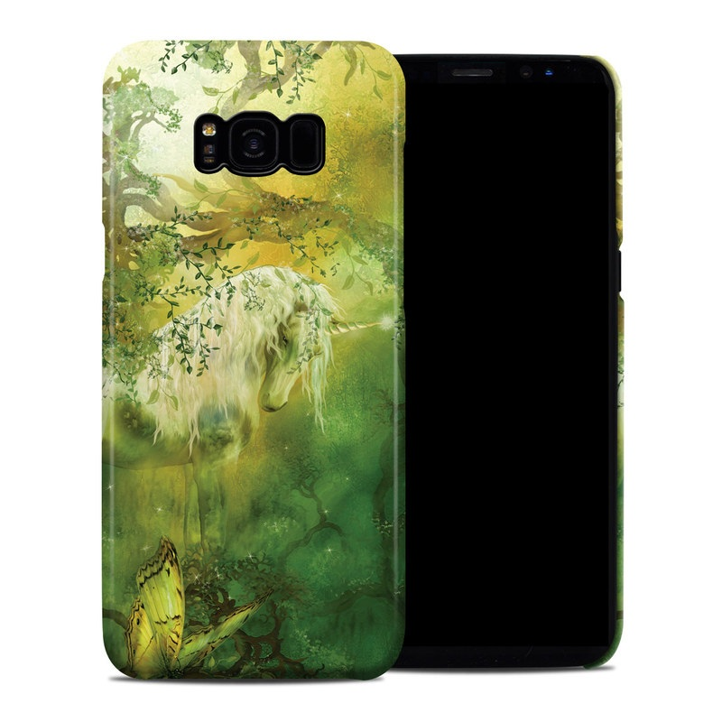 Samsung Galaxy S8 Plus Clip Case design of Nature, Green, Painting, Art, Visual arts, Watercolor paint, Illustration, Modern art, Still life with green, black, gray colors