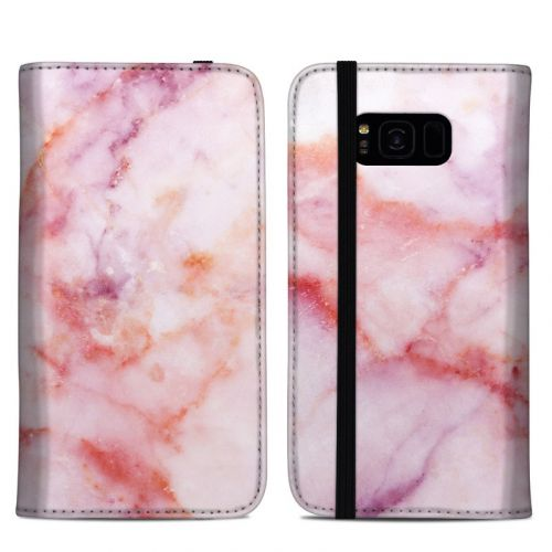 Blush Marble Samsung Galaxy S8 Plus Folio Case
