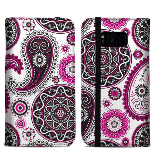 Boho Girl Paisley Samsung Galaxy S8 Plus Folio Case