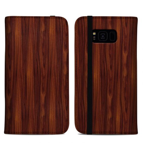 Dark Rosewood Samsung Galaxy S8 Plus Folio Case