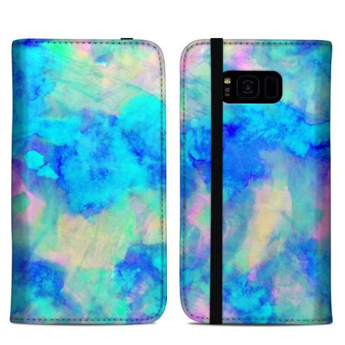 Electrify Ice Blue Samsung Galaxy S8 Plus Folio Case