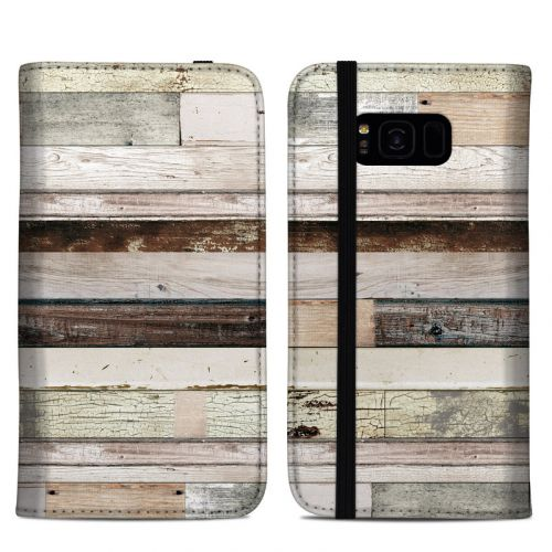 Eclectic Wood Samsung Galaxy S8 Plus Folio Case