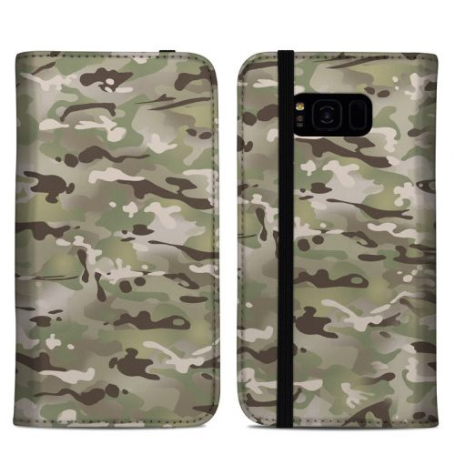 FC Camo Samsung Galaxy S8 Plus Folio Case