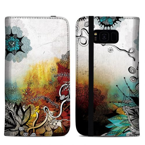 Frozen Dreams Samsung Galaxy S8 Plus Folio Case