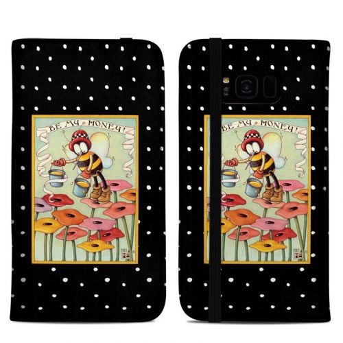 Be My Honey Samsung Galaxy S8 Plus Folio Case