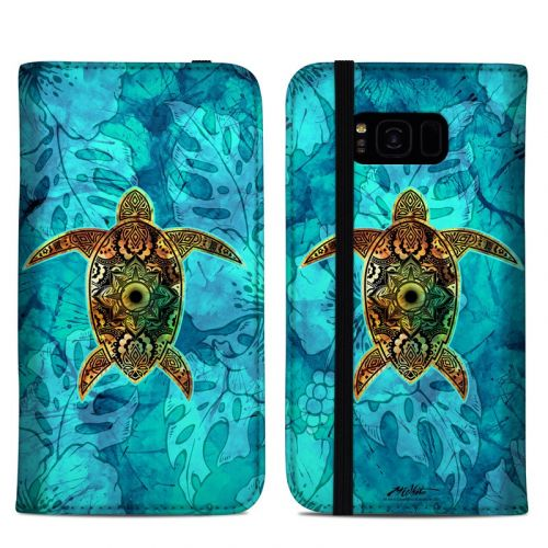 Sacred Honu Samsung Galaxy S8 Plus Folio Case