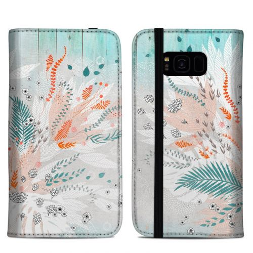 Tropical Fern Samsung Galaxy S8 Plus Folio Case