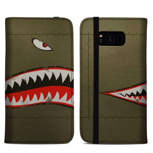 USAF Shark Samsung Galaxy S8 Plus Folio Case
