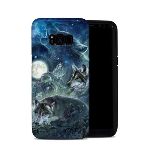 Bark At The Moon Galaxy S8 Plus Hybrid Case