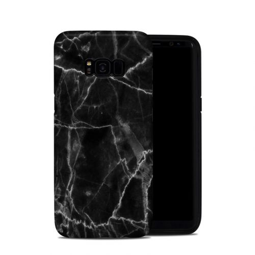 Black Marble Samsung Galaxy S8 Plus Hybrid Case