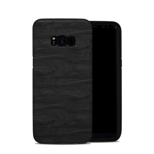 Black Woodgrain Samsung Galaxy S8 Plus Hybrid Case