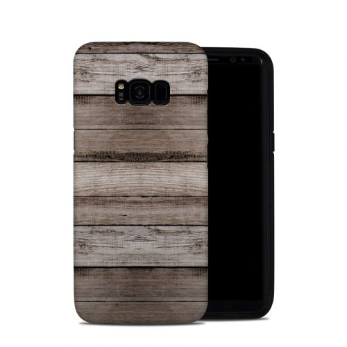 Barn Wood Samsung Galaxy S8 Plus Hybrid Case